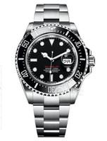 높은 품질의 명품 바다 생물의 43mm 126600 남성 시계 자동 이동 스윕 기계 세라믹 베젤 원래 버클 손목 시계 시계