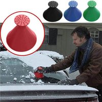 Scrape a Round Snow Scraper Car Ice Scraper Windshield Remov...