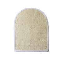 15x20cm Natural Loofah Bath Gloves Weiche Haut Peeling Natural Loofah Bath Back Brush Luffa Bath Gloves