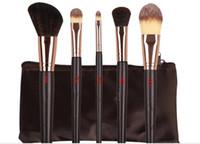 DHL FRETE GRÁTIS Promoção mais recente ky Pincéis de Maquiagem 5 peças Pincel de Maquiagem Profissional conjunto
