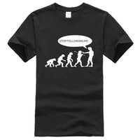 2019 Summer Evolution Men' s T- shirts Stop Following Me ...