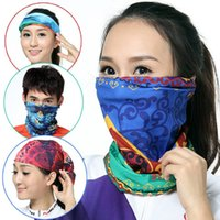 Outdoor Face Mask Cycling Neck Running Fishing Elastic Seaml...