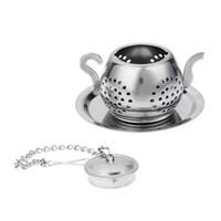 Paslanmaz Çelik Çay Demlik Çayırcı Tepsi Baharat Çay Süzgeci Bitkisel Filtre Teaware Aksesuarları Mutfak Aletleri Çay Demlik