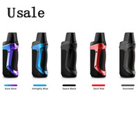 Geekvape Aegis Boost Pod Mod Kit 40W Built-in 1500mAh batteria con 3.7ml Cartridge 0.6ohm Mesh Coil minimalista vapore del sistema 100% originale