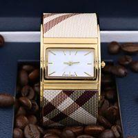 Lady Bayan mujer hediyeler saati Bileklik Relojes izlemek için 2019 Yüksek kaliteli Yeni Geliş Kadın Elbise İzle Altın fahion Çelik kol saati Kuvars