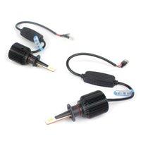 otomobiller için Otomotiv aydınlatma M1 9006 9005 H1 sis lambası otomotiv led ışıklar ampul değiştirme beyaz led farlar