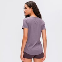 New 2020 Women' s Sports Yoga Short Sleeve Sexy Shirts F...