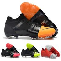 d4ecea5b1 Caliente marca Original Mercurial Greenspeed 360 FG zapatos de fútbol de  moda cr7 botas de fútbol zapatillas de deporte para hombres negro rosa  verde rojo