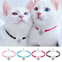 wholesale Cute Cat Dog Collar Puppy Necklace Small Dogs Cats...