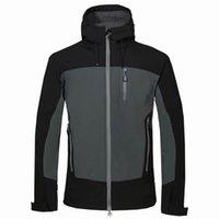 Giacca impermeabile maschile da esterno maschio campeggio campeggio escursionismo sportivo abbigliamento di marca Abbigliamento a vento sciistica Giacche termiche 1716012