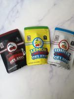 جديد وصول 3.5 g Mylar أكياس الكرز الليمون أكياس Gelato حقيبة الظهر BOYZ الأسود الأبيض الكرز أكياس Gelato 420 عبوة زهرة الأعشاب الجافة