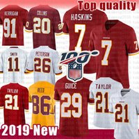 Washington Redskins 7 Dwayne Haskins 21 Sean Taylor 29 Derrius Guice 20 Landon Collins 26 Adrian Peterson 91 Kerrigan 0 Reed Smith
