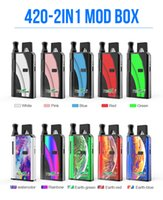 2020 authentic Kangvape 420 2 in1 Box Mod Kit 650mAh Pre- hea...