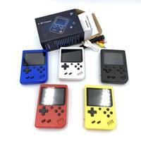El Oyunu Oyuncular 400-in-1 Dahili 3,0 inç Ekran Oyunları Mini Taşınabilir Retro Video Oyun Konsolu Destek TV-Out AVCable 8 Bit FC Games