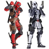 Red Grey Deadpool Variant 16cm super hero league of justice ...
