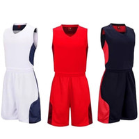 High Quality Blank Basketball Jerseys For Women Men Couples ...