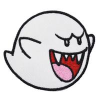 Nouvelle Arrivée Ghost Cartoon Jeu Patchs De Broderie Fer Sur Coudre Sur Vêtements Chemise Chapeau En Gros Livraison Gratuite