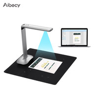 Aibecy F50 Pieghevole HD USB Book Picture Document Fotocamera LED Tecnologia AI Scanner 15 megapixel A3 A4 Dimensione scansione