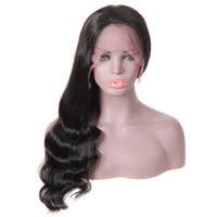 10A Loose Deep Human Hair Lace Front Wigs Brazilian Hair Loo...