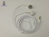 thick line crod cable black white earphone 1.1 meter cheap good quality for music, factory wholesale,500pcs