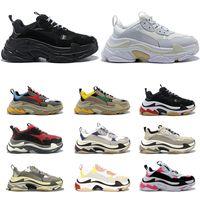 Balenciaga Luxe Triple S Designer Low Old Dad Sneaker Combinaison Soles Bottes Hommes Femmes Mode sport Chaussures Casual Balenciagachaussures de sport 36-45