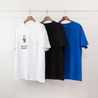 패션 망 티셔츠 폴로스 새로운 도착 남성 여성 고품질 편지 인쇄 캐주얼 짧은 소매 유명한 망 스타일리스트 티즈 3 색 S-2XL