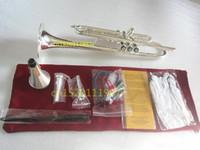 Труба Bach Высокого качества Труба LT180S - 43 Посеребренных Музыкальные инструменты Супер Профессиональное исполнение Бесплатная доставка