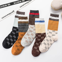 Autumn and winter new fashion gold and silver silk tide sock...