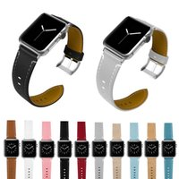Hot Sell Leather Watchband for Apple Watch Band Series 3 2 1...