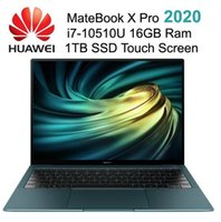 Orijinal HUAWEI MateBook X Pro 2020 13.9 inç i7-10510U 4.9GHz 16GB Ram 1TB SSD 3K Dokunmatik Ekran Hisse 6.0 Sınırsız Parmak İzi dizüstü bilgisayarlar