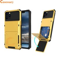 Card Slot Hybrid Armor Defender Cases for iPhone 12 Pro Max ...