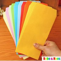 New 5pcs Set candy colors Stationery envelope   Gift&office ...