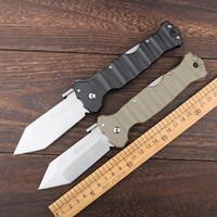regalo degli uomini portatili di acciaio a freddo pieghevole coltello BANCO D2 maniglia lama G10 BM esterna strumento tasca Lama di campeggio di caccia tattica EDC