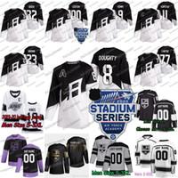 8 Drew Doughty Los Angeles Kings 2020 Stade Série 11 Anze Kopitar Matt Ryan Roy Joakim Adrian Kempe Kyle Clifford Ben Hutton Jersey