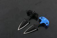 auto deferência mini-mão espinho facada impulso faca Handle 440 lâmina de Camping tático faca EDC presente Facas natal para o homem 1sets = 2pcs 003.387 admi
