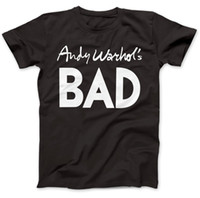 Andy Warhol' s Bad As Worn By T- Shirt 100% Premium Cotto...