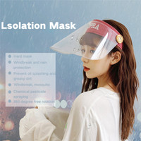 Workshop Cooking Cleaning Protective Face Shield Clear Visor...