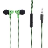Sport Headphones with Mic Universal Braided Bass Sound Earph...