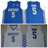 New Arrival. Mens  5 Malik Monk Jersey 2018 Kentucky Wildcats Basketball ... bfdae8643
