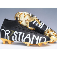 Haute cheville de football Mercurial Superfly VI 360 femmes hommes Elite Chaussures enfants Football PureControl Purechaos Football Crampons