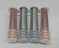 الغطاس المعدنية ل 1 ملليلتر الزجاج حقنة يور قفل حاقن أفضل الساخن في الولايات المتحدة الأمريكية vape الزجاج حقنة التخزين الغطاسون المعدنية