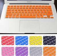 tastiera virtuale adesivi tastiera del silicone copertura della pelle Protector per Macbook 11 12 13 15 13 17 Air 16.1 A1932