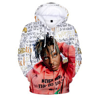 Rapper Juice Wrld Hooded Hoodies Men Women New Arrivals Fash...