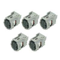 5 Sätze 4 Pin Automobil-Anschluss Auto-Stecker Volkswagen Reifendrucksensor-Stecker DJ7041-0.65-21, 6189-1231