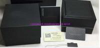 2020 Nouvelle Qualité supérieure de luxe Montre de luxe Noir Original Box Papers Mens Cadeau Emballage Boîtes en bois Montres Boxes Cuir pour Watch Boîte