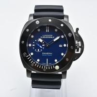 판매 럭셔리 브랜드 실리콘 밴드 기계 자동 자동 망 시계 Dropshipping 패션 두 다이얼 남자 디자이너 시계 선물