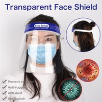 DHL 20PCS Disposable Safety Face Shield Fluid Resistant Full...