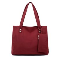 Oxford Large Capacity Long Handbag Women Shopping Tote Shoul...