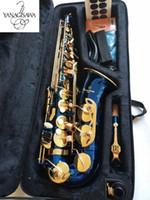 marchio strumento musicale professionale New Blue Sassofono contralto giapponese Yanagisawa A-W02 bemolle cartamoneta con il caso Sassofono