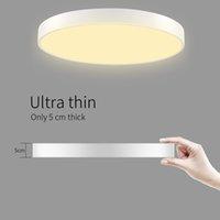 Alta luminosità senza flash antiriflesso e nessuna radiazione moderno soffitto LED si illumina Bagno Cucina soggiorno 36W ultrasottile LED rotonda soffitto D